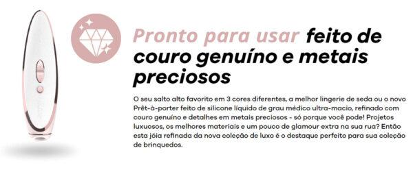 Estimulador Sugador Satisfyer Luxury Pret-a-porter - Sex shop