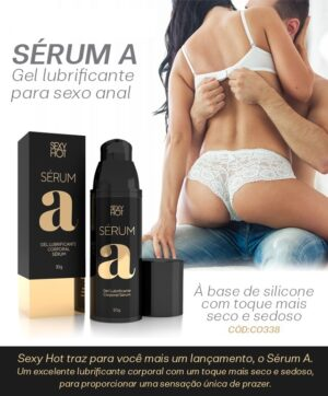 Lubrificante Sérum A Corporal - Sexy Hot - Sex shop
