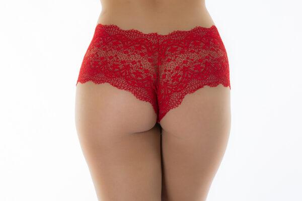 Tanga Calesson Vermelha Pimenta Sexy - Calcinha Sexy
