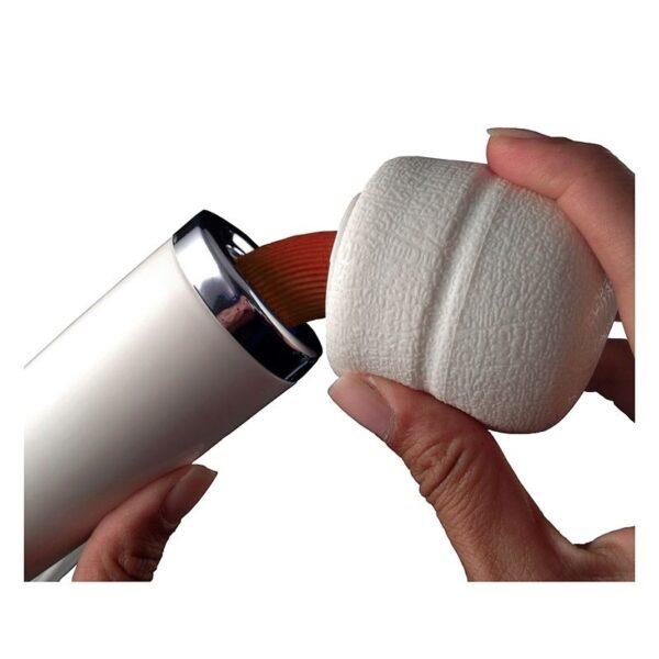 Varinha Magica recarregável 10 vibrações com cabeça flexível - Sexshop