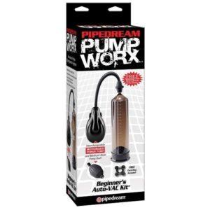 Bomba Peniana Beginners Auto-Vac Kit - Pump Worx - Pipedream - Sex shop
