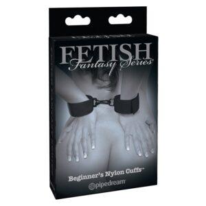 Algemas Com Velcro - Beginner's Nylon Cuffs - Sex shop