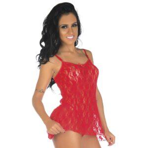 Camisola Sexy, Camisola Sensual GiGi Vermelha Pimenta Sexy