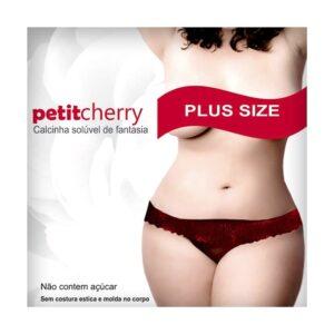 Calcinha Solúvel Morango Plus Size PetitCherry - Sex shop