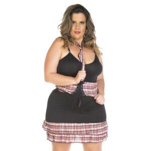 Kit Fantasia Professora Plus Size Pimenta Sexy - Sexshop