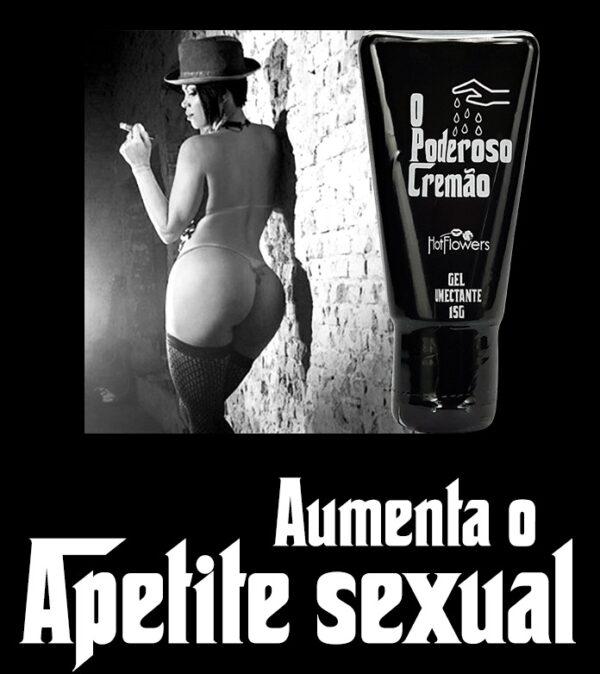 Gel O Poderoso Cremão Excitante 15g HotFlowers - Sex shop