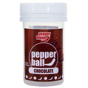 Pepper Ball Plus Chocolate Comestível Dupla 3G Pepper Blend