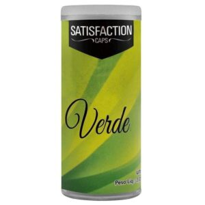 Bolinha Vaginal Excitante Satisfaction Verde 2 Capsulas Perfumadas