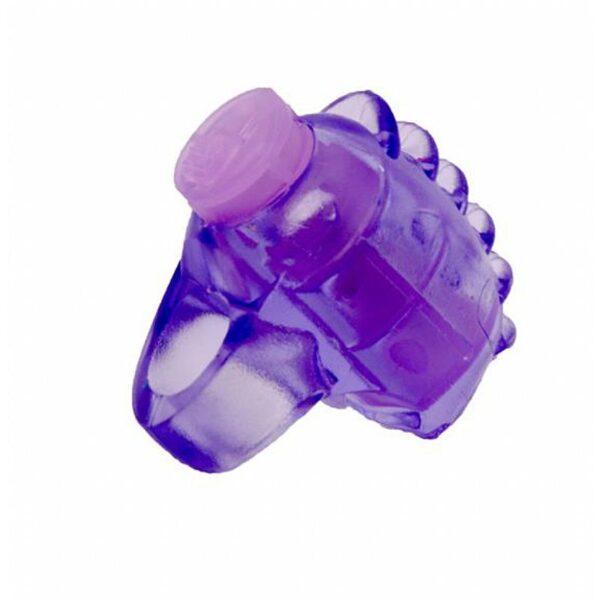 Vibrador dedeira reutilizável - Sexshop