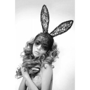 Máscara em Renda Coelhinha - Bunny Sexy Masc - Sex shop