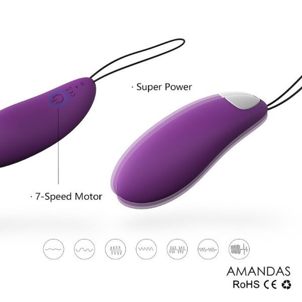 Vibrador Ponto G Cápsula Amandas - S-Hande - Sexshop