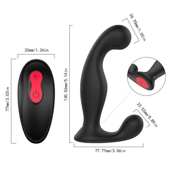 Massageador de próstata e Anal - Jelly - Rct S-Hande