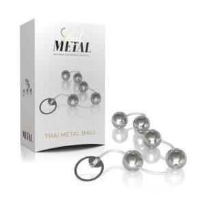 Bolinha Tailandesa Lust Metal - Thai Metal Ball - Prata