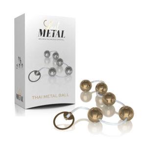 Bolinha Tailandesa Lust Metal - Thai Metal Ball - Dourada