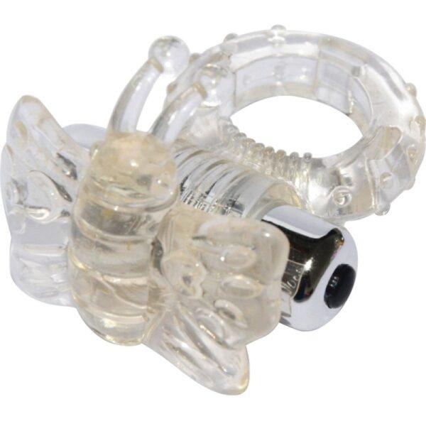 Anel Peniano com 7 Vibrações Estimulador Borboleta - BUTTERFLY VIBERATION COCKRING - Sex shop