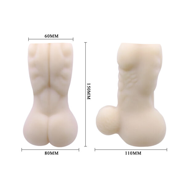 Masturbador ânus Masculino em Cyberskin - Sexshop