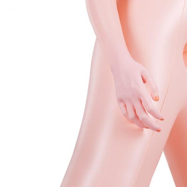 Boneca Inflável, com Seios , Vagina e Anus Penetráveis - Sex shop