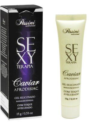 CAVIAR GEL TOQUE AVELUDADO SEXY TERAPIA 15G PESSINI EXOTIC FRUIT - SEX SHOP