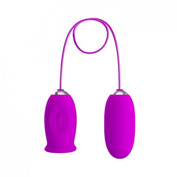 Vibrador formato de Língua e Capsula vibratória - Daisy Pretty Love