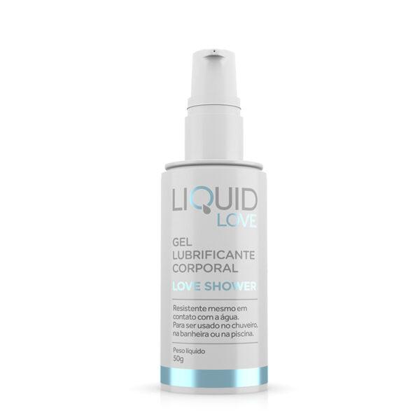 Lubrificante Siliconado Resistente a água - Liquid Love - Love Shower - Sex shop