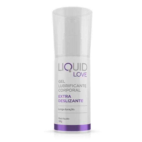 Lubrificante Extra Deslizante - Liquid Love - Gel Lubrificante