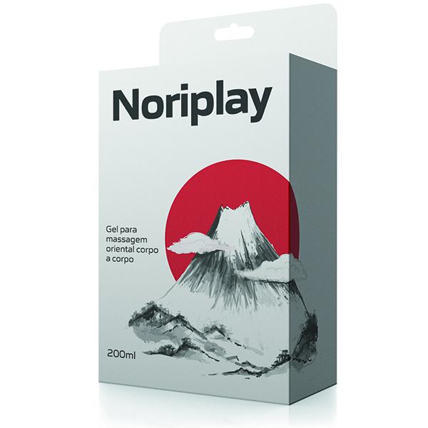 Noriplay - Gel para massagem oriental corpo a corpo - Sex shop