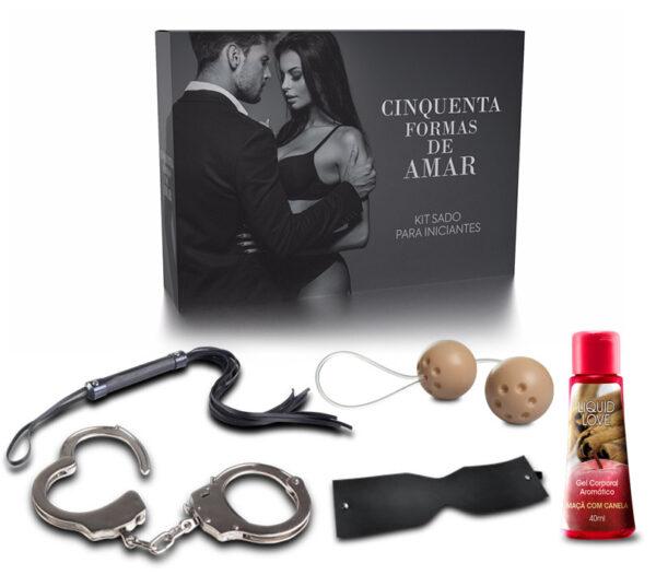 Kit Cinquenta Formas de Amar - Sexshop