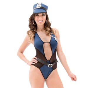 Kit Fantasia Policial Elen Sapeka - Sexshop