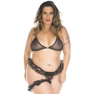 Sexshop Online, Kit Mini Fantasia Plus Size Conjunto Sexy Pimenta Sexy