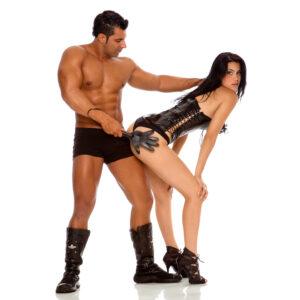 Chibata Erótica em formato de Mão 38cm - Sex shop