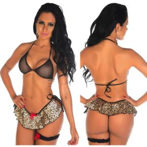 Kit Mini Fantasia Selvagem Pimenta Sexy - Sex shop