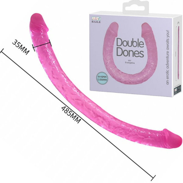 Pênis Duplo Grande Dildo - Double Dones I - Baile - Sexshop