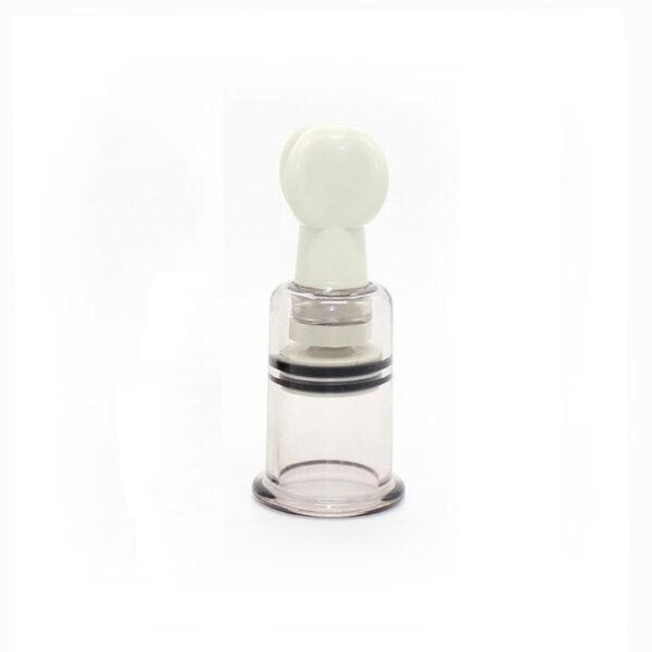 Estimulador de Mamilos e Clitóris com Sucção Unissex em Acrílico - Sexshop