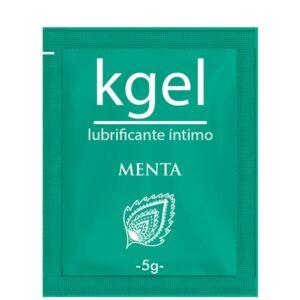 Lubrificante Kgel Menta 5g - Sache - Sex shop