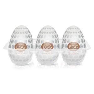 Caixa com 6 Masturbadores Tenga Egg - CRATER - Sexy shop