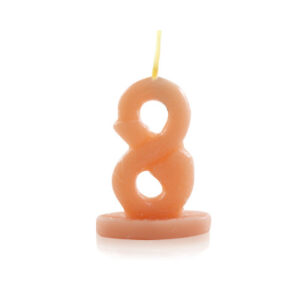 Vela Nº8 para brincadeiras no formato de Pênis - Sexshop