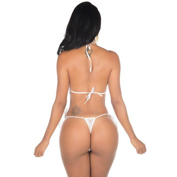 Kit Mini Fantasia Body Argola Branco Pimenta Sexy - Sex shop