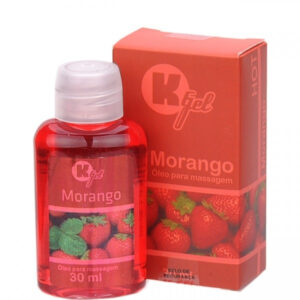 Gel Estimulante KGEL Hot Morango 30ml - Sexy shop