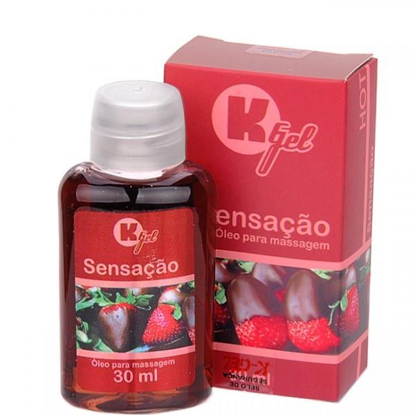 Gel Estimulante KGEL Hot Sensação 30ml - Sexy shop