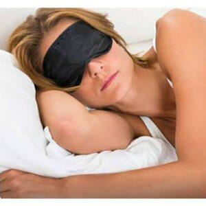 Venda para olhos Fetiche de Pelúcia Preta - Sexshop