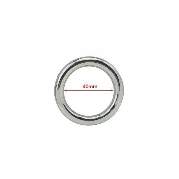 Anel Peniano Anatômico Pênis Ring - Diametro de 4cm - Sex shop