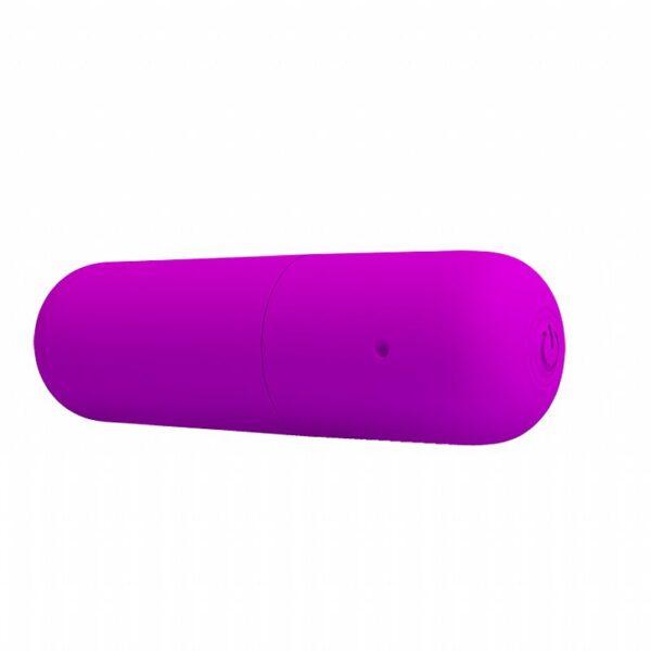Vibrador Bullet Recarregável - Power - Pretty Love - Sexshop
