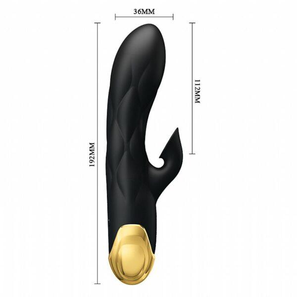 Estimulador de Ponto G e Clitóris com Sucção Recarregável - Liberators - Pretty Love - Sexshop
