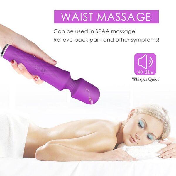 Varinha Massageadora Recarregável - Luna - S-Hande - Sexshop