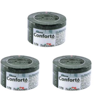 Kit 03 Cremes Anais Conforto Funcional 3,5g HotFlowers - Sex shop