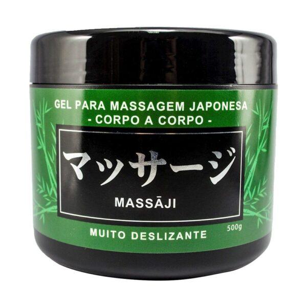 Kit 02 Lubrificante Massaji Gel massgem Corpo a Corpo 500g HotFlowers - Sexshop