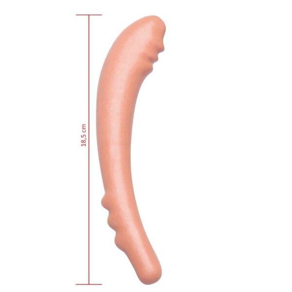 Plug Anal Desejo com Saliencias 18,5x3cm Hot Flowers - Sex shop