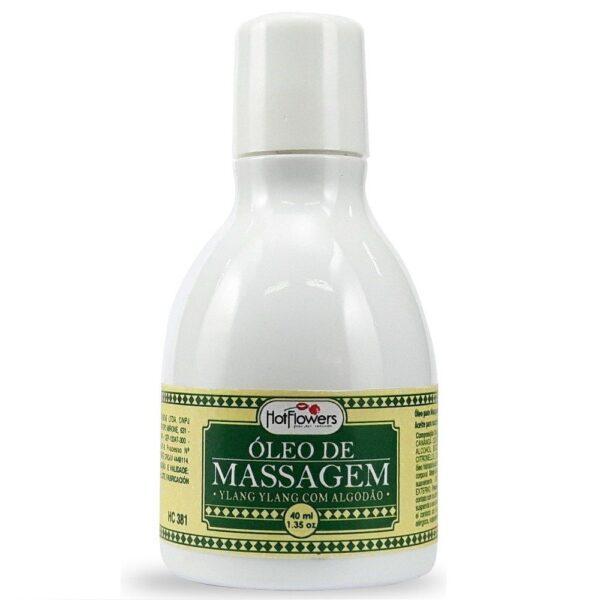 Óleo para Massagem Ylang Ylang Beijável 40ml Hot Flowers - Sex shop