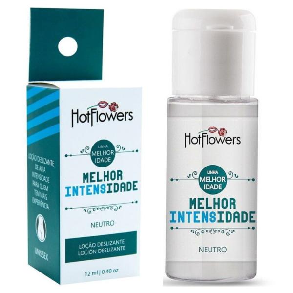 Kit 03 Lubrificante Siliconado Melhor Intensidade 12Ml Hot Flowers - Sex shop