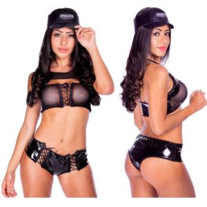 Fantasia Policial Erótica Pervertida Hot Flowers - Sex shop